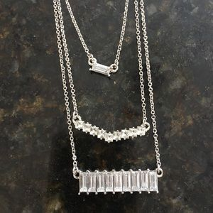 NWOT Banana Republic layered necklace!